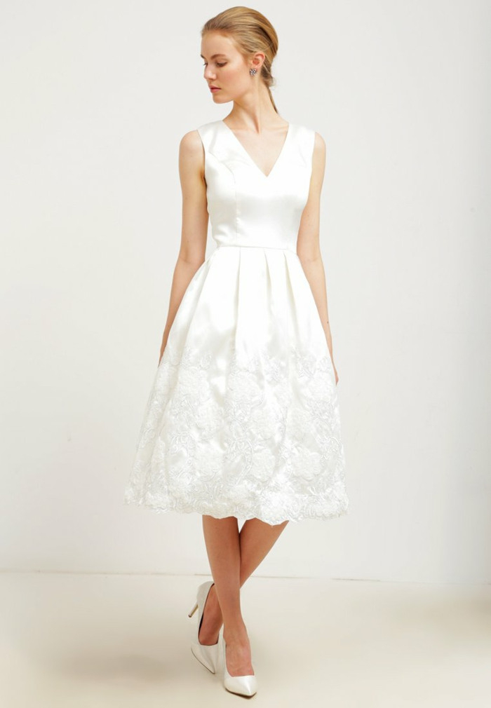 36 Weiße Kleider Die Nicht Unbedingt Für Hochzeiten