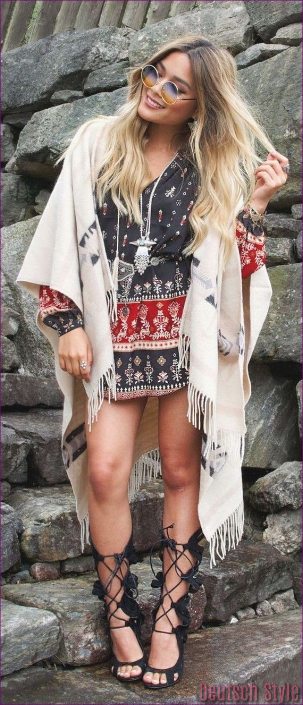 40 Niedliche Sommeroutfits In 2020  Boho Kleidung Boho