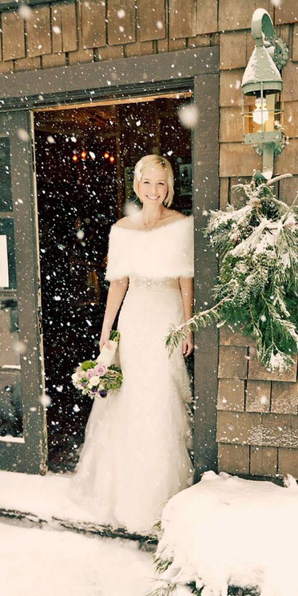 40 Winter Brautkleider Wie Im Märchen  Coole Outfits
