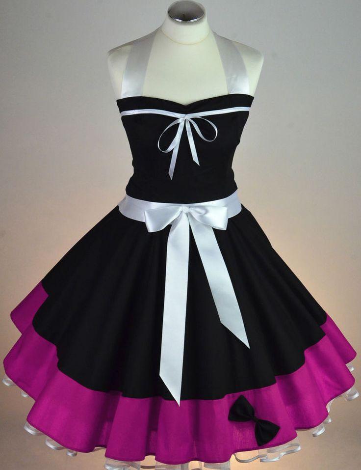 413 Gigue Petticoat Tanzkleid Rockabilly 50Er Jahre