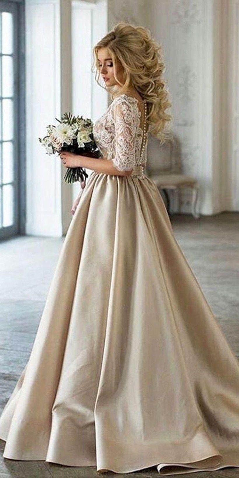 44 Elegante Winterhochzeit Kleid Ideen Mit Ärmeln