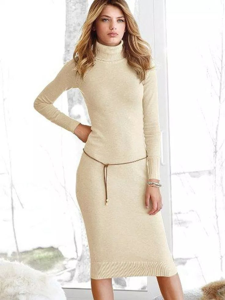 44 Stilvolle Rollkragen Kleider Ideen Für Den Herbst