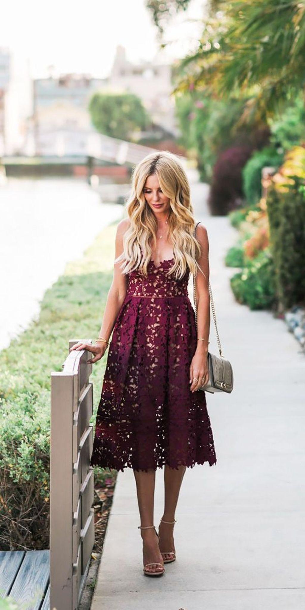46 Awesome Summer Outdoor Hochzeitsgast Kleider  Kühle 46