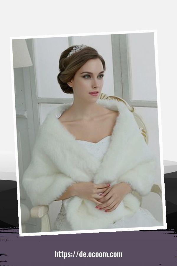 46 Awesome Winterhochzeit Kleid Und Mantel Ideen