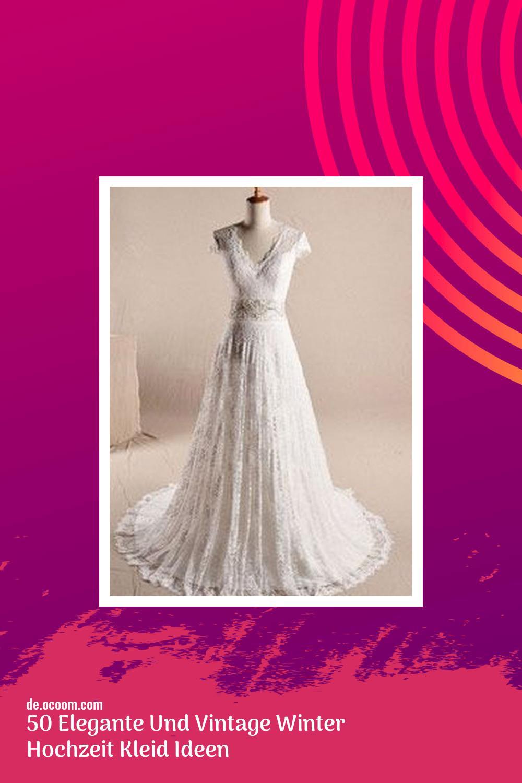 50 Elegante Und Vintage Winter Hochzeit Kleid Ideen  Page