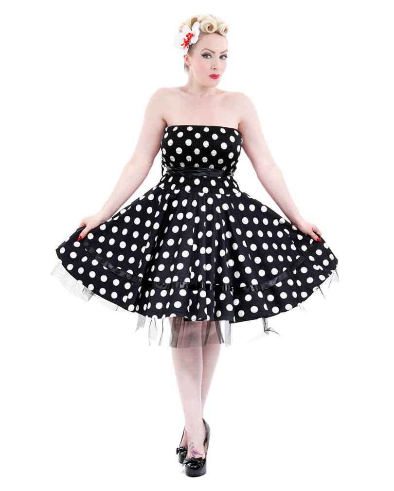 50Er Jahre Bandeau Kleid  50Er Jahre Mode  Rockabilly