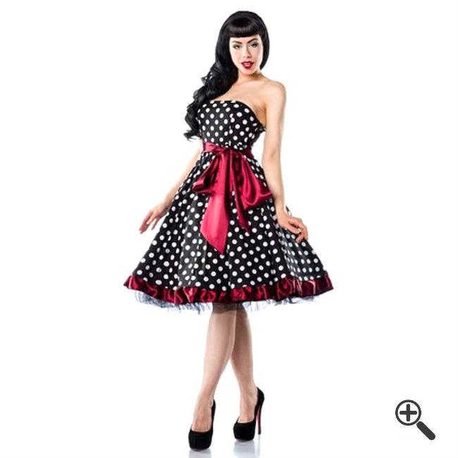 50Er Jahre Kleid In Gr.: Xl | Schöne Kleider Günstig
