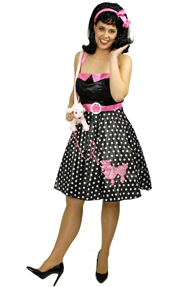 50Er Jahre Kleid Rockabilly Kostüm Rock N Roll Pudel