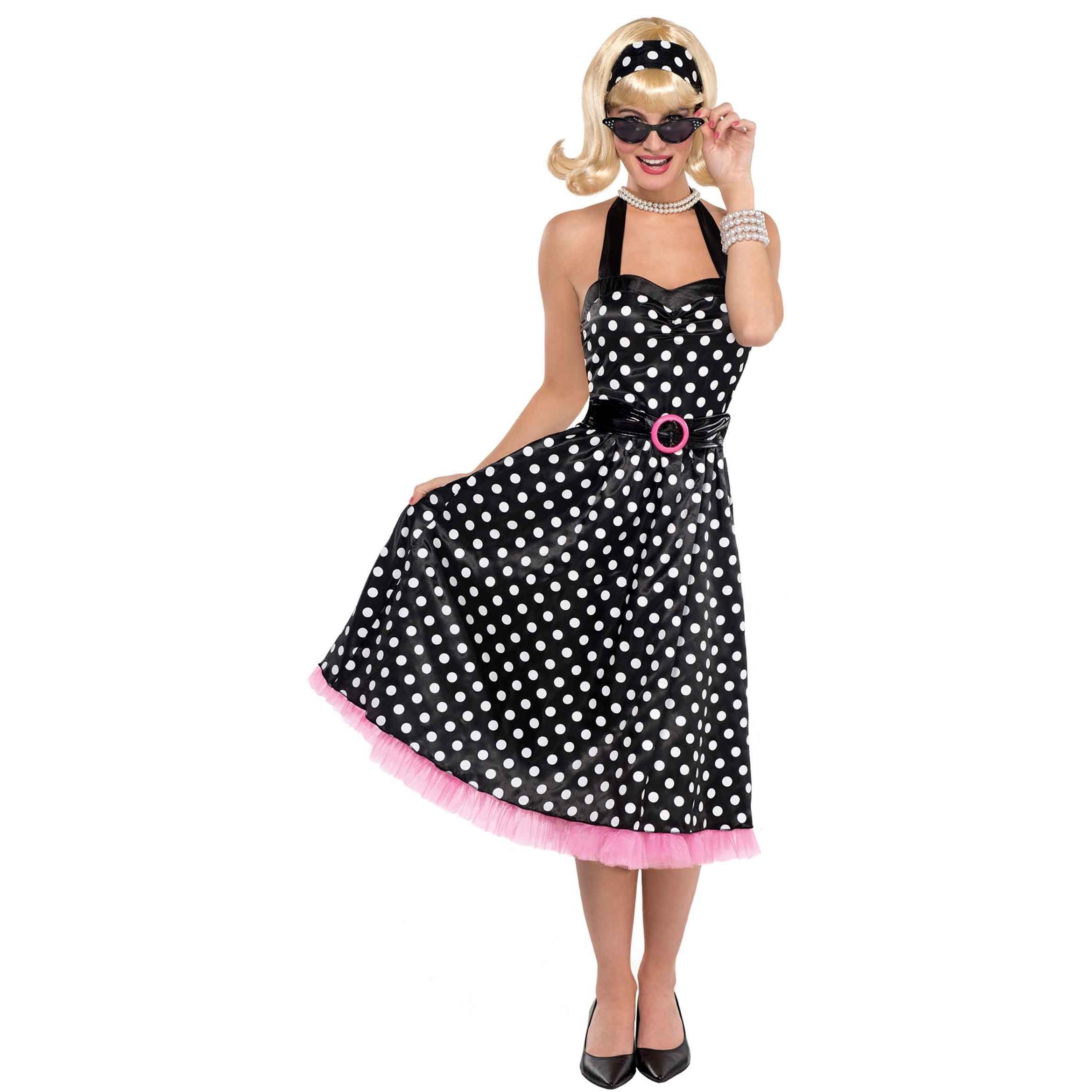 50Er Jahre Lets Twist Kleid Für Damen