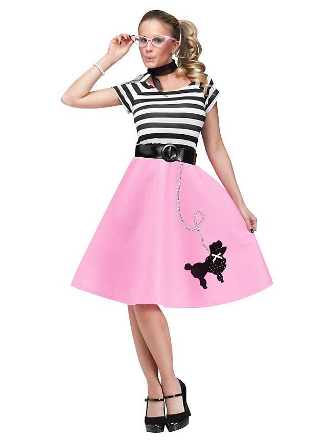 50Er Jahre Pudel Kleid Kostüm ★ Online Bestellen