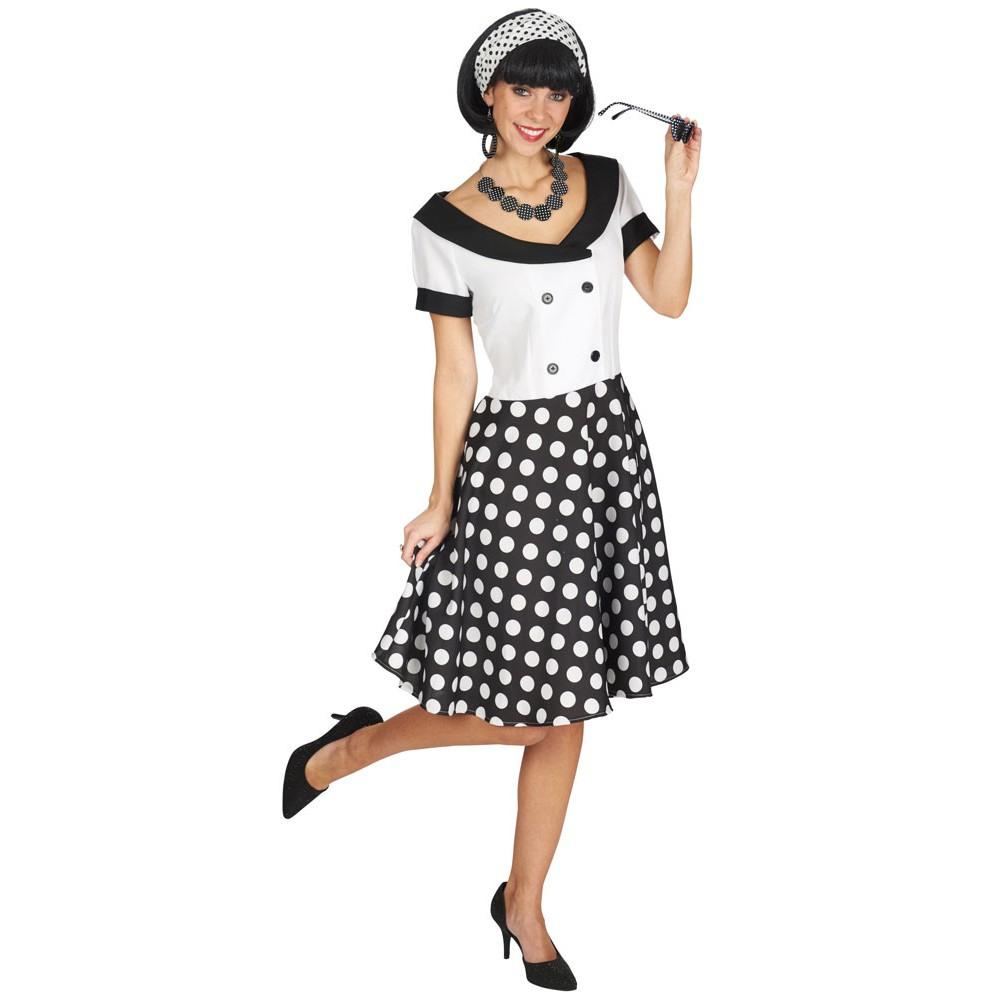 50Er Jahre Sally Kleid Damenkostüm