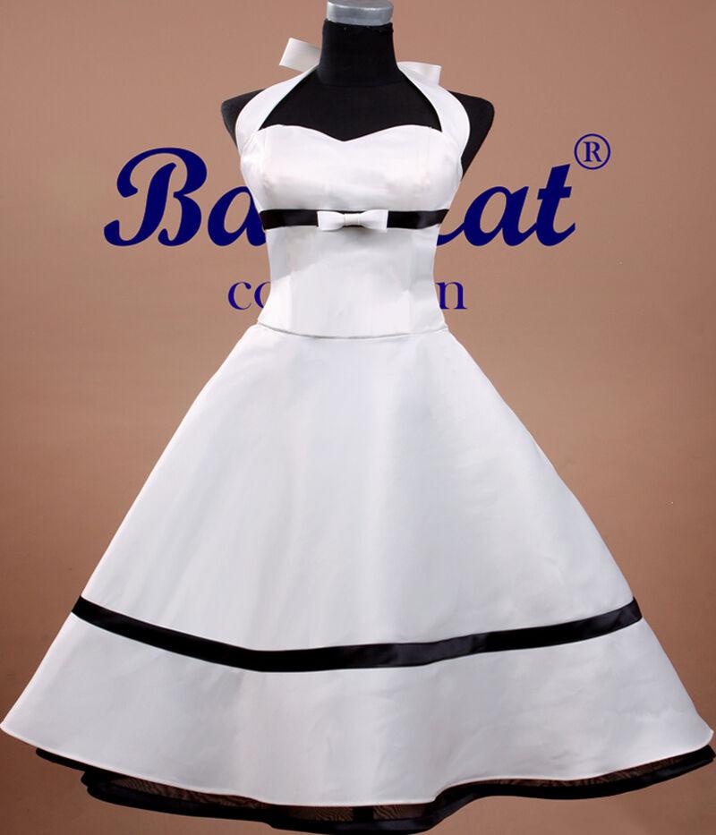50Er Jahre Tanzkleid Vintage Mode Petticoat Kleid
