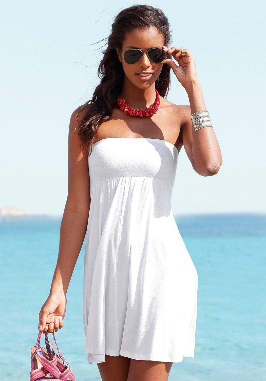 5In1 Strandkleid  Weiß Von Lascana  Lascana
