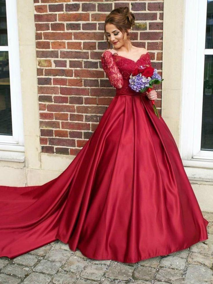 7 Besten Farbig Brautkleider Online Bilder Auf Pinterest