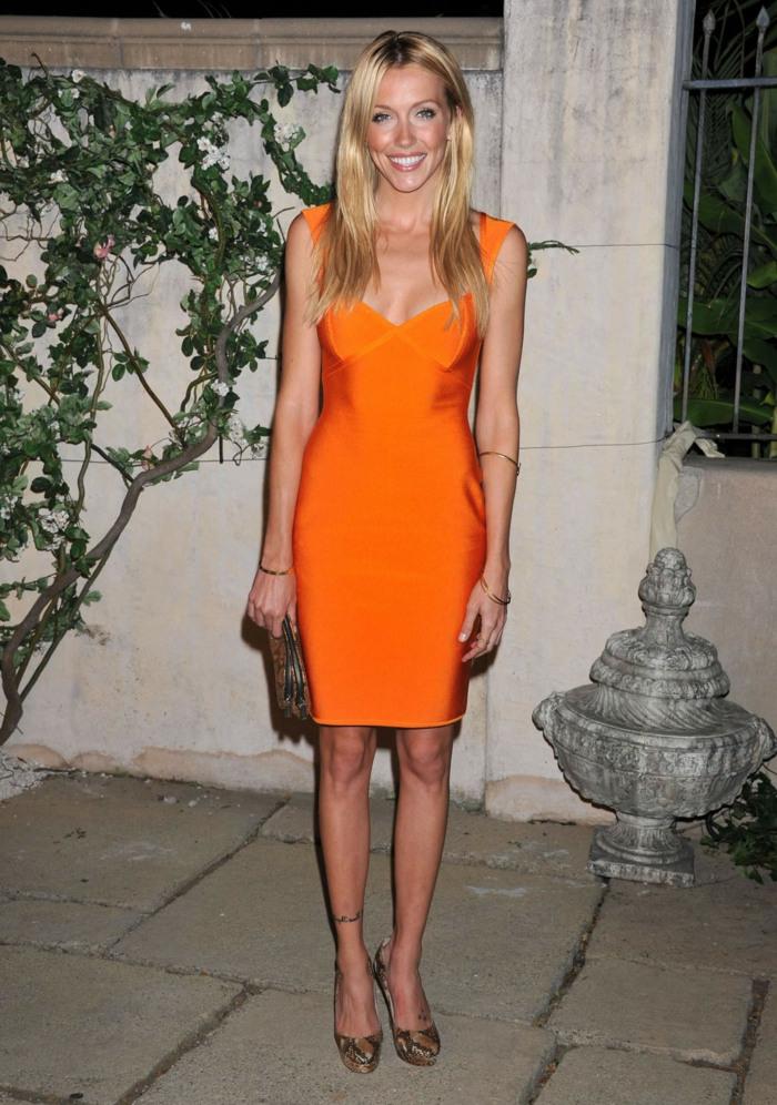 70 Attraktive Modelle Von Kleid In Orange  Archzine