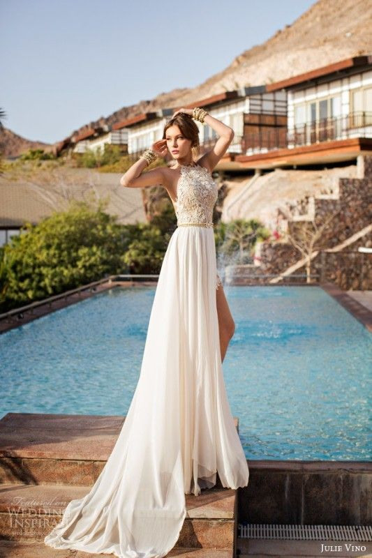 75 Most Breathtaking Colored Wedding Dresses In 2020