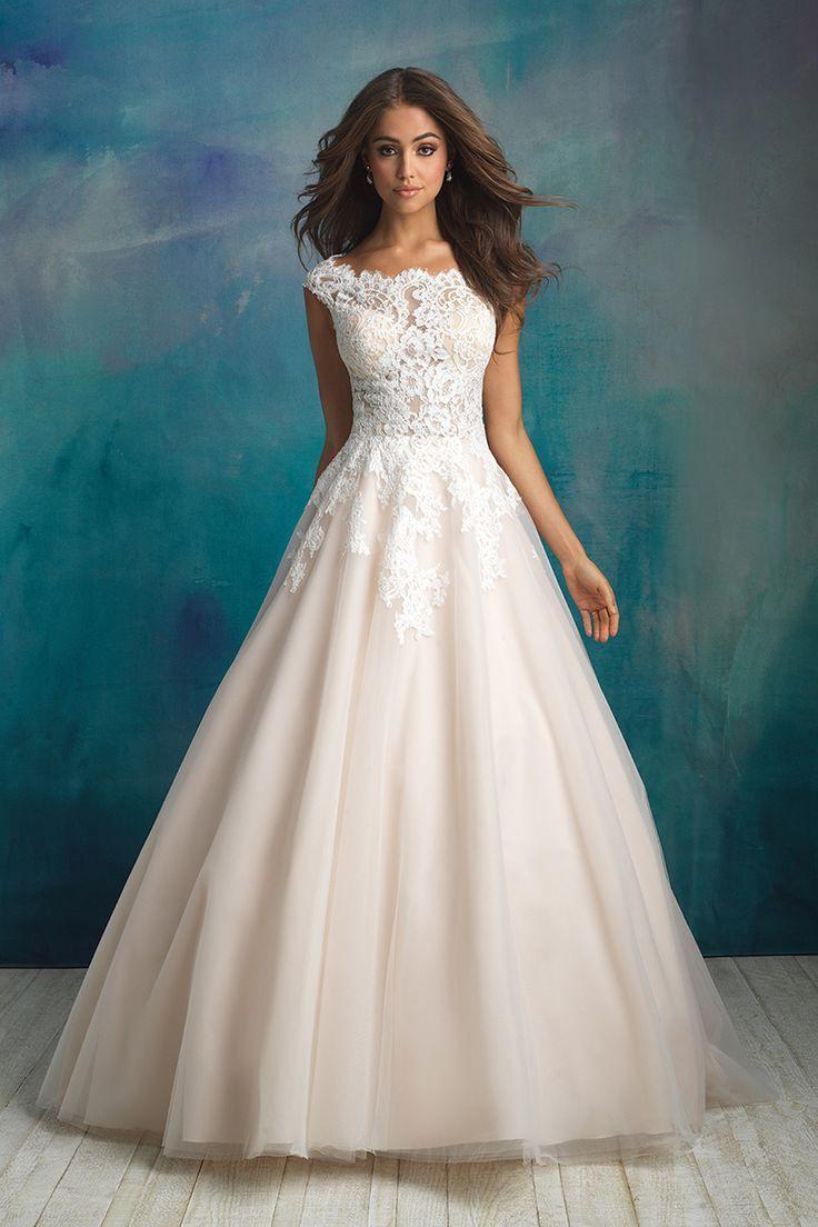 9520  Allure Bridals  Hochzeit Kleidung Cinderella