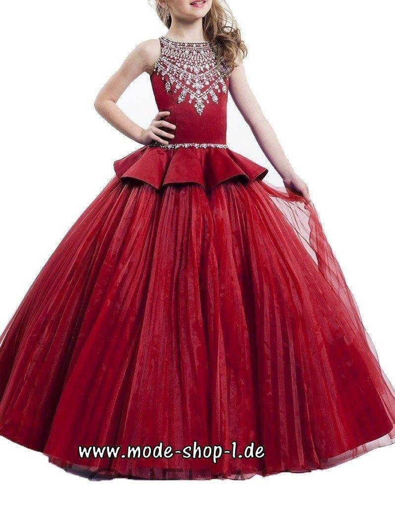 A Linie Mädchen Kleid Abendkleid Manou Festlich In