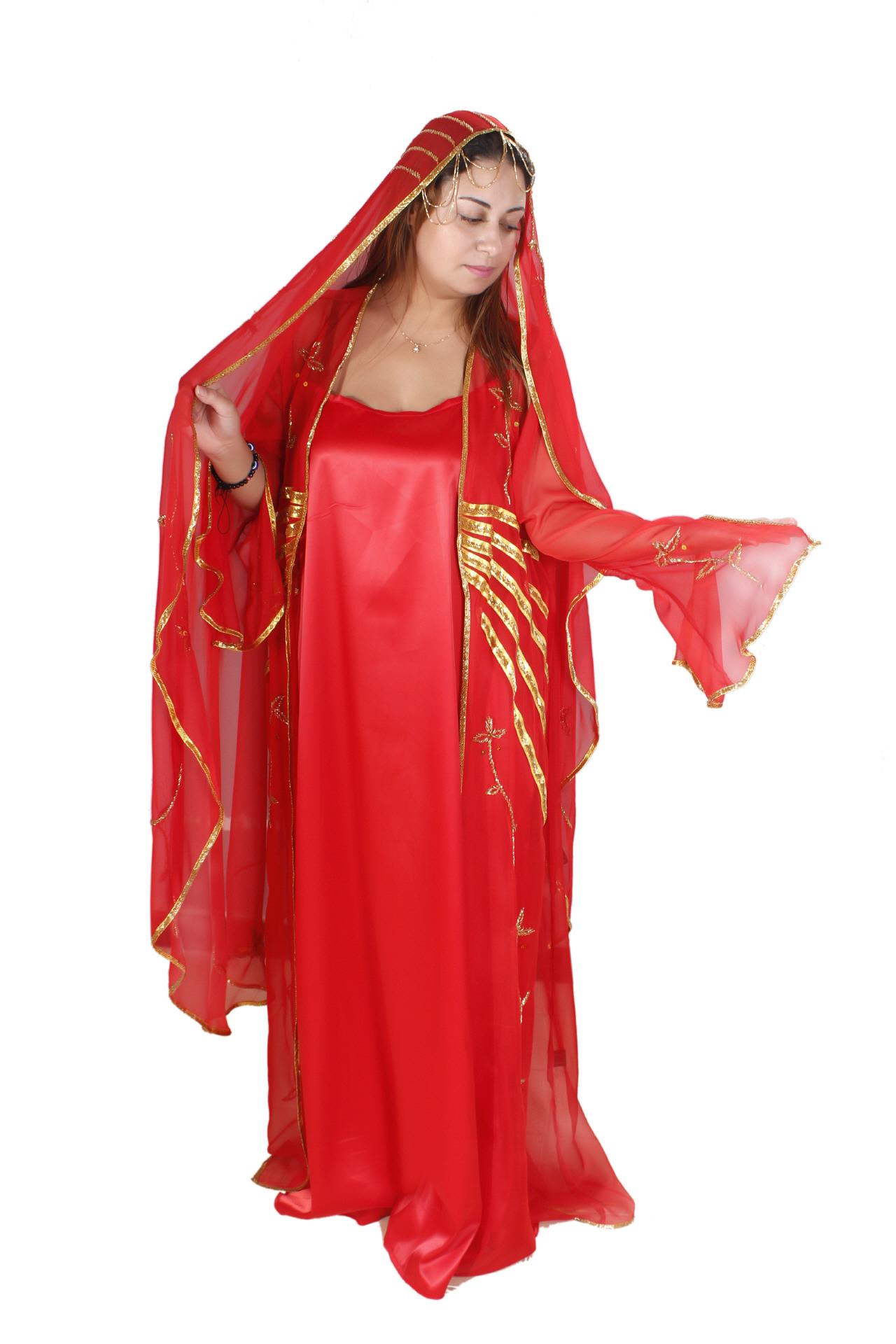 Abaya Islamische Festkleider Arabische Kleidung Bei