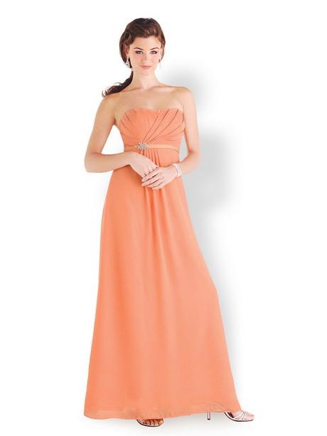 Abendkleid Apricot