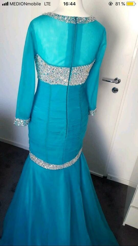 Abendkleid Ballkleid Verlobungskleid Jovani Strass 34