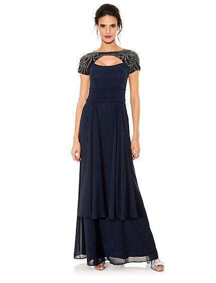 Abendkleid  Kleider Modestil Schwarzes Kleid