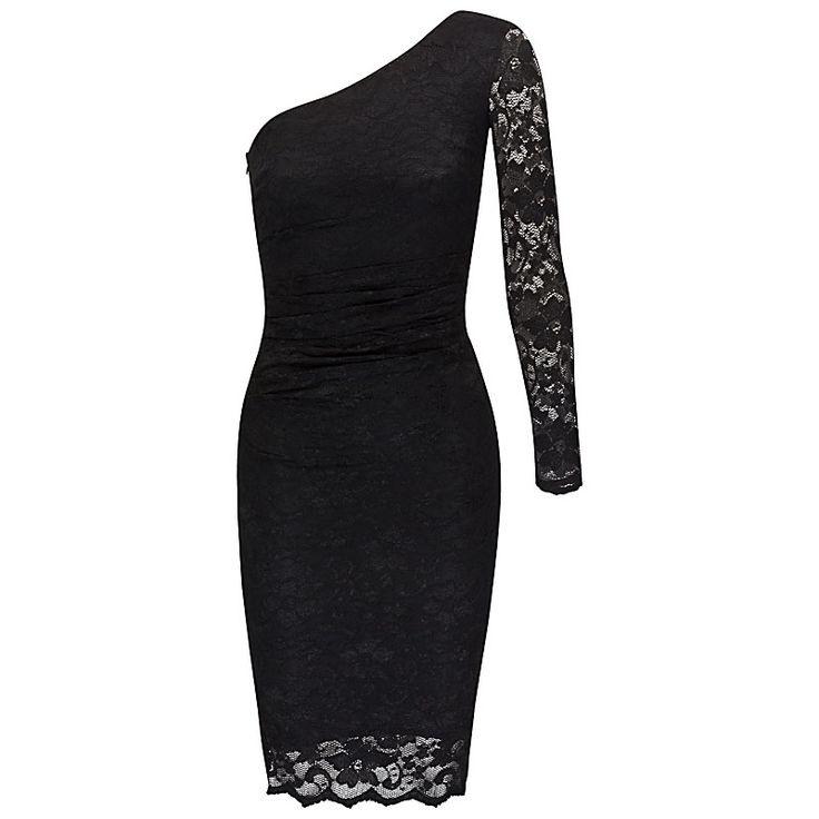 Abendkleid Spitze One Shoulder  Kleider Abendkleid