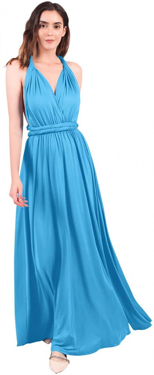 Abendkleid Wickelkleid  Abendkleider