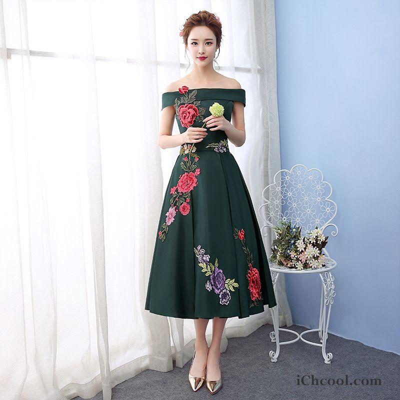 Abendkleider Damen Kurzer Absatz Hochzeit Bankett