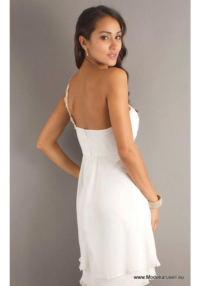 Abendkleider Online Bestellen Kaufen Abendkleid Kurz Weiss
