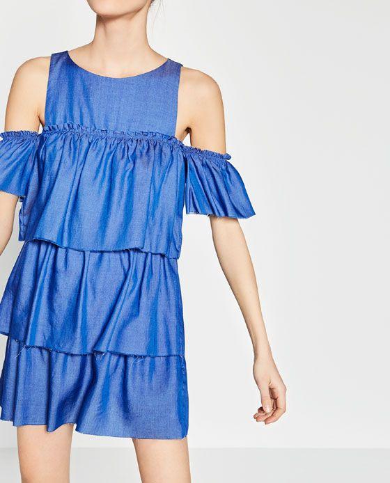 Access Denied  Jeans Kleid Modestil Zara