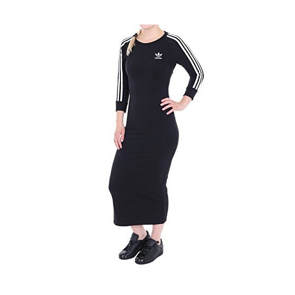Adidas Damen 3Streifen Kleid  Sportkleider  Online Bei