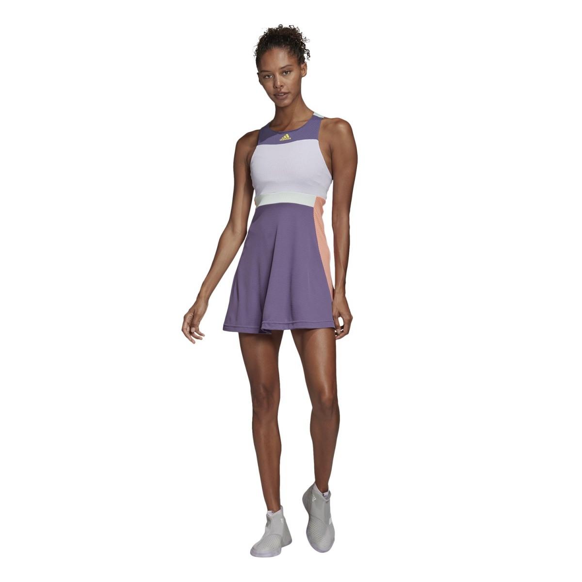 Adidas Kleid 2020 Violett Damen Versandkostenfrei Online