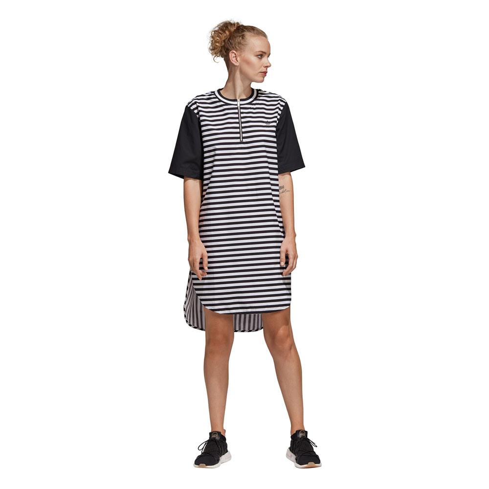 Adidas Originals Dress Damenkleid Black/White  Funsport