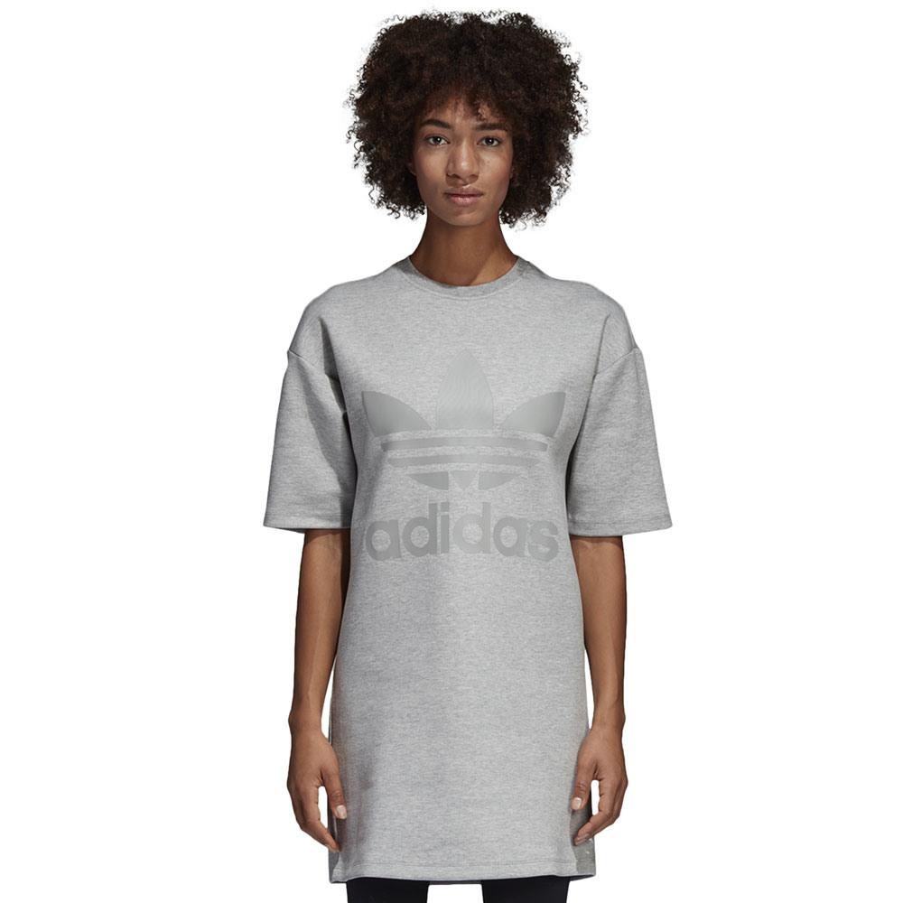 Adidas Originals Dress Damenkleid Medium Grey  Funsport