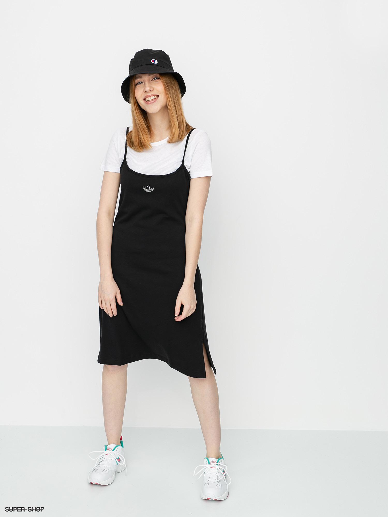 Adidas Originals Dress Kleid Wmn Black