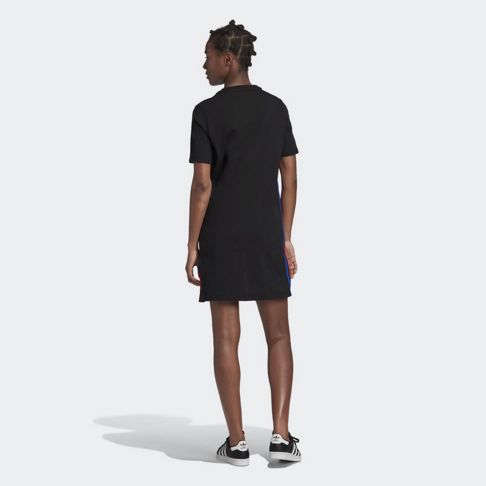 Adidas Originals Röcke  Kleider  Adicolor 3D Trefoil T