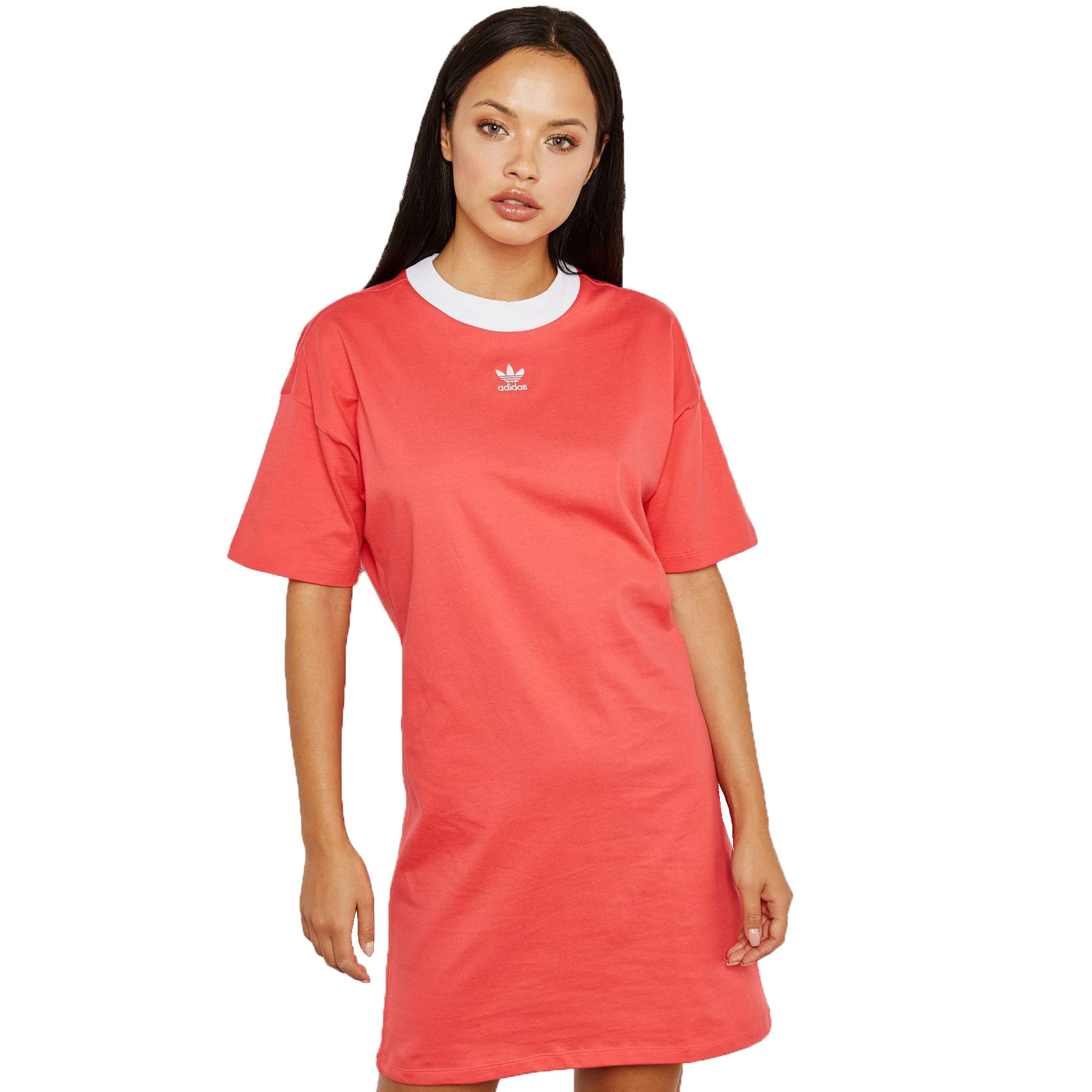 Adidas Originals Trefoil Tee Dress Kleid Longshirt