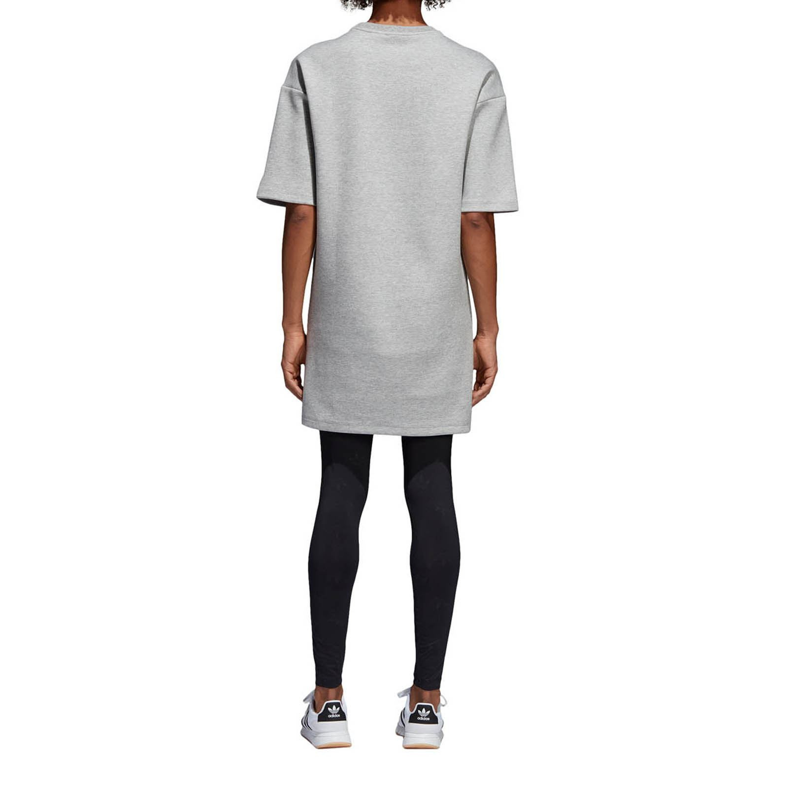 Adidas Originals Tshirtkleid  Grau  Brandalley