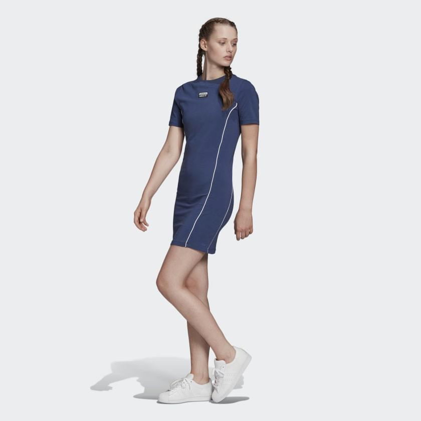 Adidas Tshirtkleid  Blau  Adidas Deutschland