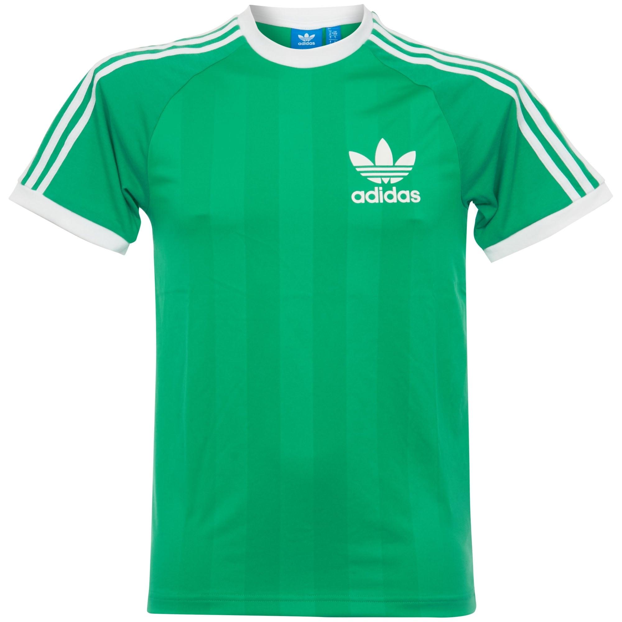 Adidas Uk Online Shop  Clfn Tee Green Tshirt Cf5308
