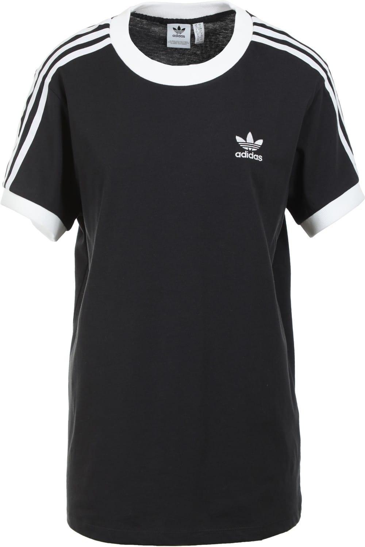 Adidas Women'S 3Stripes Tshirt  Black  Free Shipping