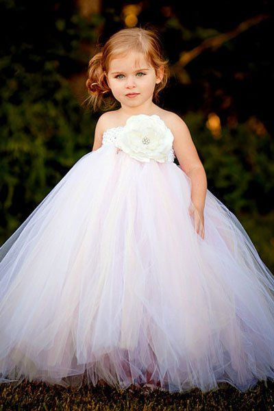 Adorable Flower Girl Dresses And Accessories