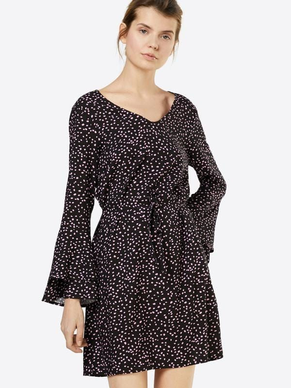 Affiliatelink  Only Gepunktetes Kleid In Schwarz Dress