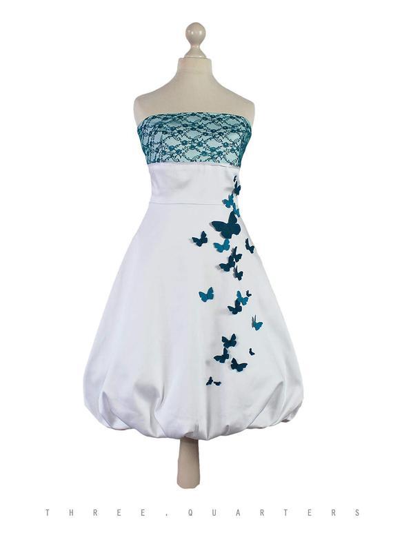 Ähnliche Artikel Wie Brautkleid Weiß Schmetterlinge