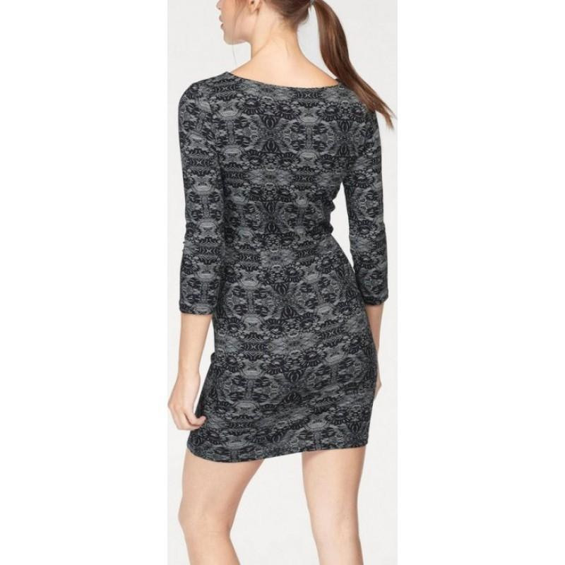 Ajc Jerseykleid Damen Freizeitklei Etuikleid Partykleid