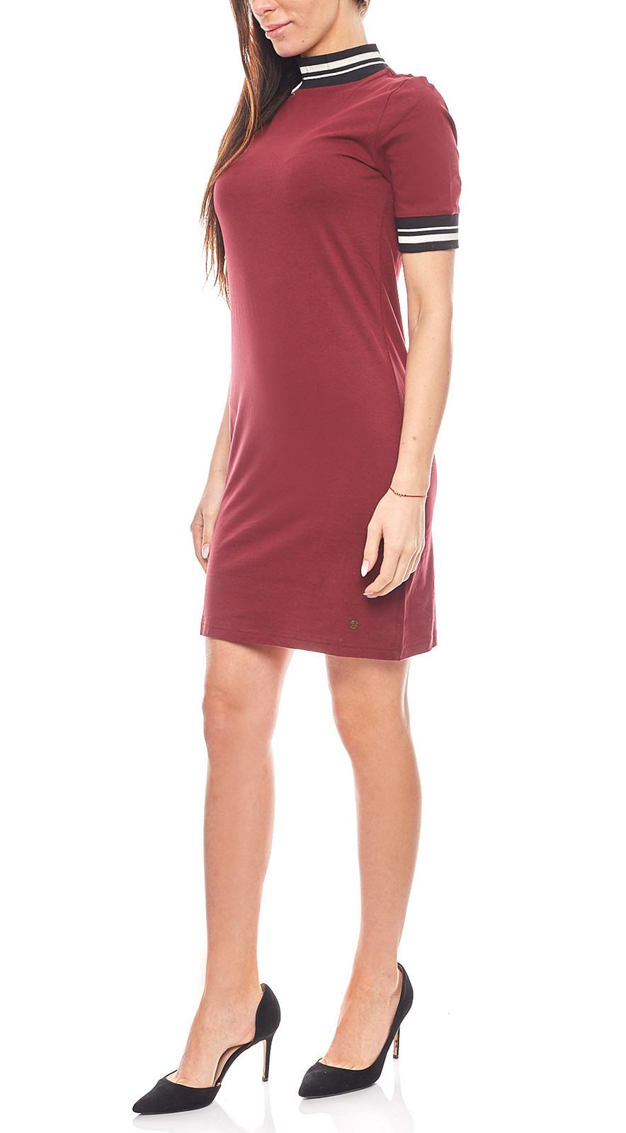 Ajc Kleid Sportliches Damen Jerseykleid Im Tshirt Style