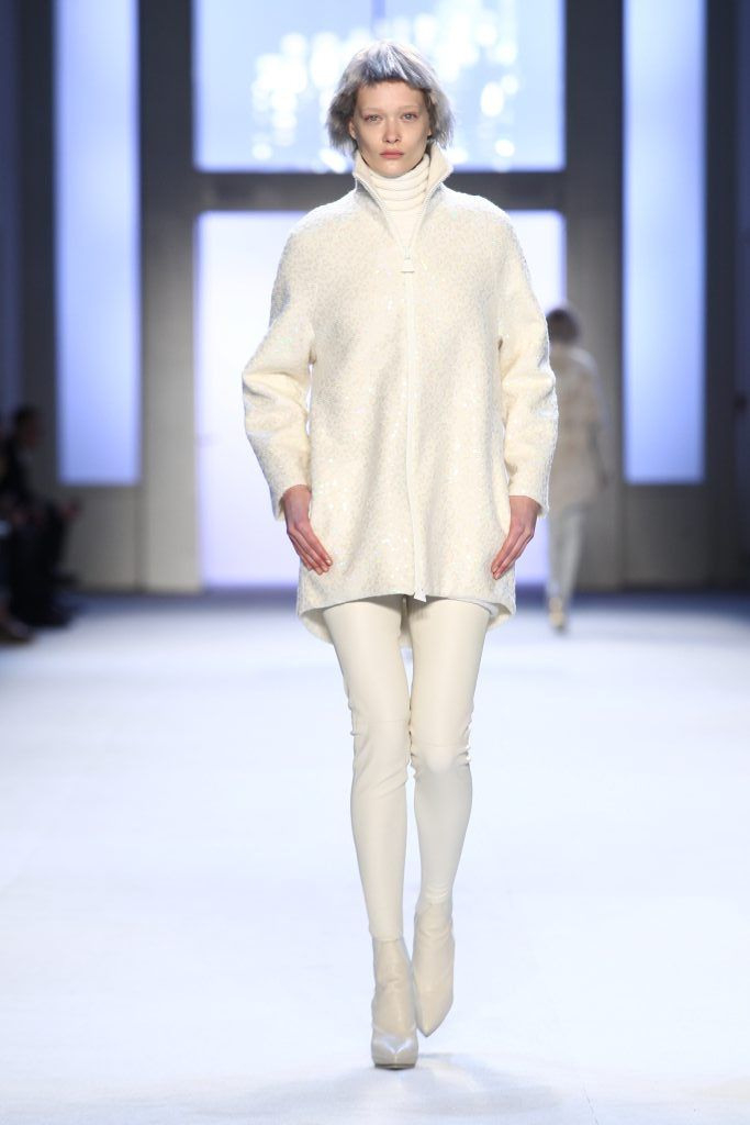 Akris Défilé Fall/Winter 2015/16 With Images  Sweater Dress