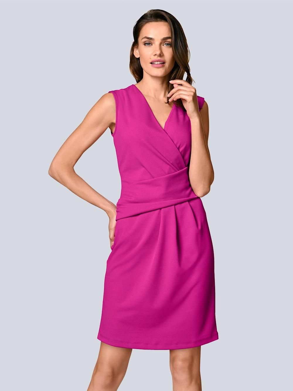 Alba Moda Kleid Mit Femininer Raffung In Der Taille  Klingel