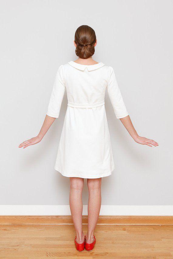 Alinienkleid Starling Cremeweiß In 2020  Kleider A
